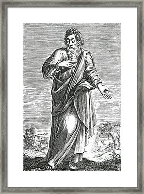 Archytas, Ancient Greek Polymath Framed Print by Science Source