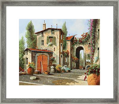 Arco Finale Framed Print by Guido Borelli