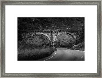 Arcos-conservatoria-rj Framed Print