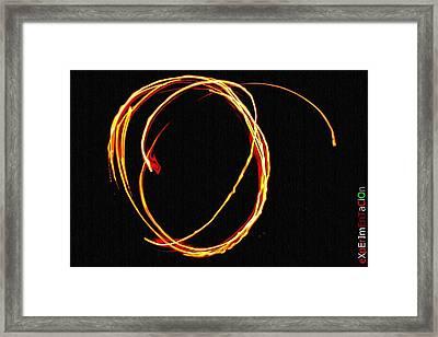 Arcos De Fuego Framed Print