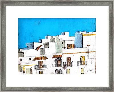 Arcos De La Frontera Spain Framed Print