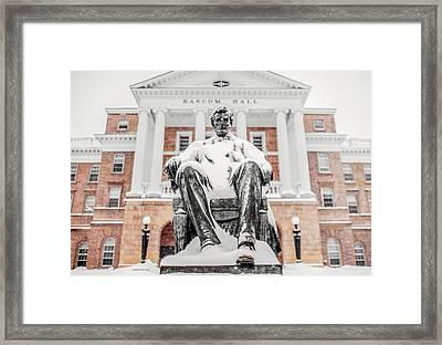 Arctic Abe Framed Print