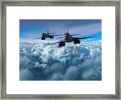 Arctic Blitz Framed Print