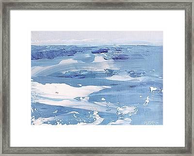 Arctic Ocean Framed Print
