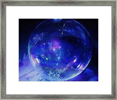 Arctic Orb Framed Print