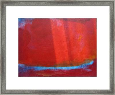Arctic Shift Framed Print by Lindie Racz