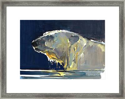 Arctic Silhouette Framed Print