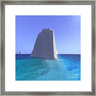 Arctic Stillness Framed Print