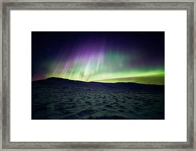 Arctic Trolls Framed Print by Tor-Ivar Naess
