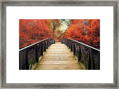 Framed Print featuring the photograph Ardent Autumn by Jessica Jenney