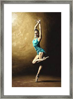 Ardent Dancer Framed Print by Richard Young