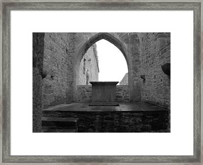 Ardfert Cathedral Framed Print