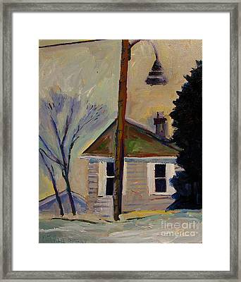 Ardith Reeds Place  Framed Print by Charlie Spear