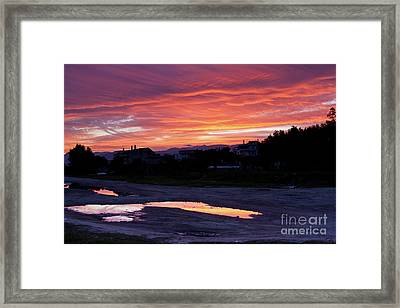Framed Print featuring the photograph Ardore, Calabria Town by Bruno Spagnolo