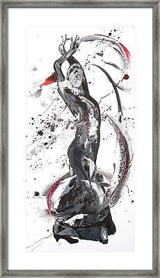 Ardour Framed Print by Penny Warden
