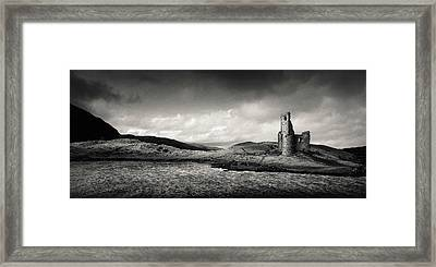 Ardvreck Castle Panorama Framed Print
