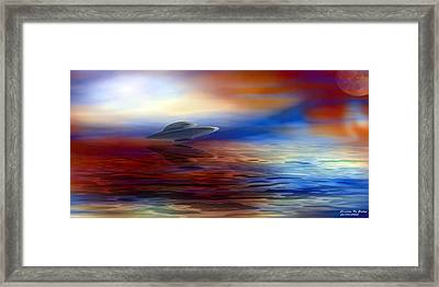 Are We Alone Framed Print by Evelyn Patrick