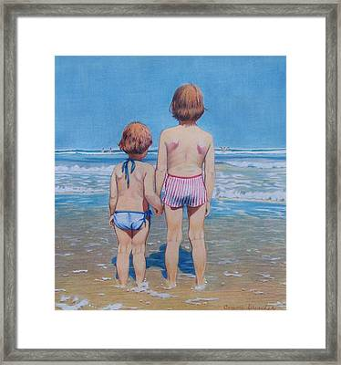 Are We Having Fun Yet Framed Print by Constance Drescher