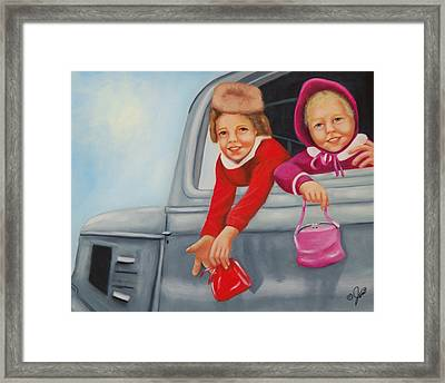 Are We There Yet Framed Print by Joni McPherson