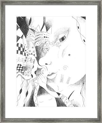 Are You Curious Framed Print