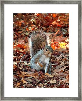 Are You Friendly Framed Print