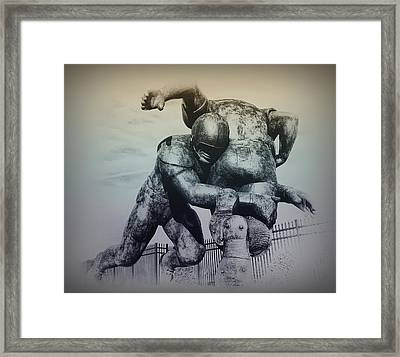 Are You Ready For Some Football Framed Print by Bill Cannon
