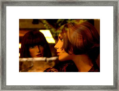 Are You Sure He Said That Framed Print by Jez C Self