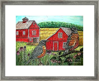 Are You Sure This Is The Way To St.paul? Framed Print by Kim Jones