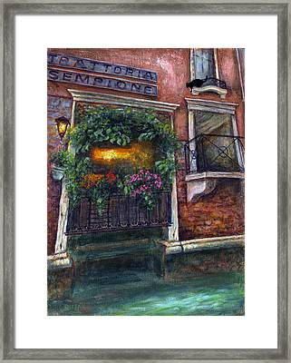 Are You There My Love? Framed Print