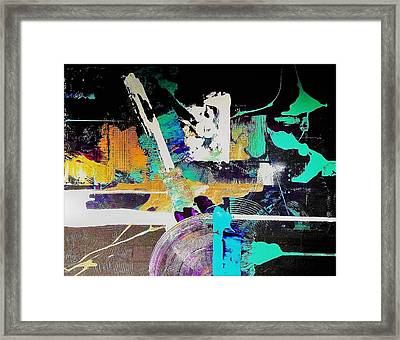 Areas Of Doubt And Uncertainty Framed Print
