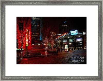 D66l-4 Arena District Photo Framed Print