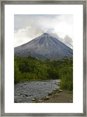Arenal By Day Framed Print