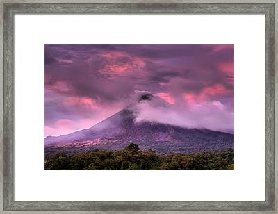 Arenal Volcano Framed Print by Dolly Sanchez