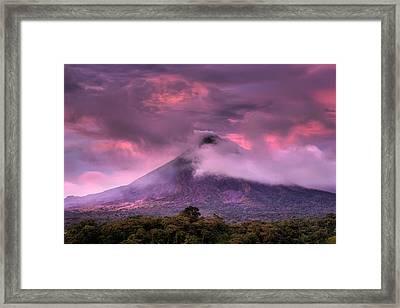Arenal Volcano Framed Print