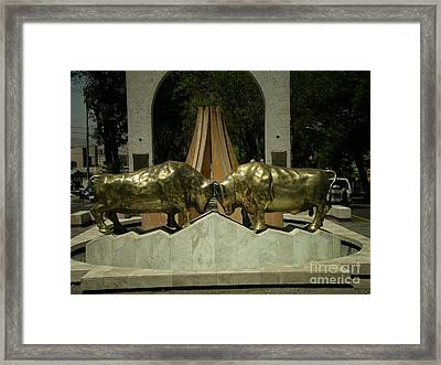 Arequipa Peru Framed Print by Carol Ailles
