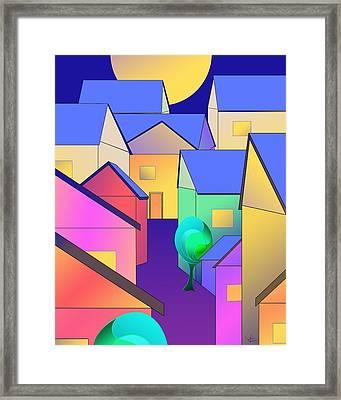 Arfordir Vi Framed Print