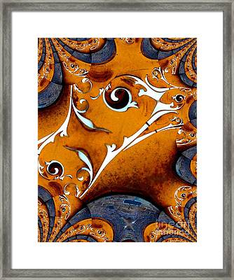 Arfully Inclined Framed Print