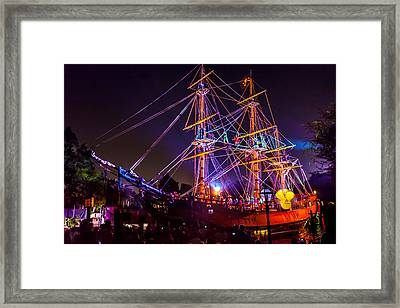 Arg Thar Be Pirates Of The Caribbean Framed Print by Scott Campbell