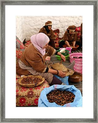 Framed Print featuring the photograph Argan Oil 2 by Andrew Fare