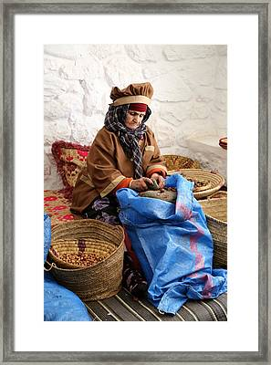 Framed Print featuring the photograph Argan Oil 3 by Andrew Fare