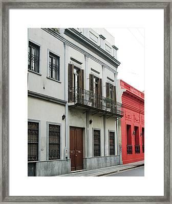 Argentine City Scene Framed Print
