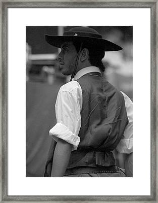 Argentine Cowboy  Framed Print