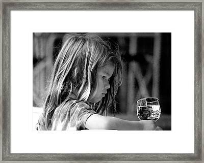 Argentine Girl  Framed Print