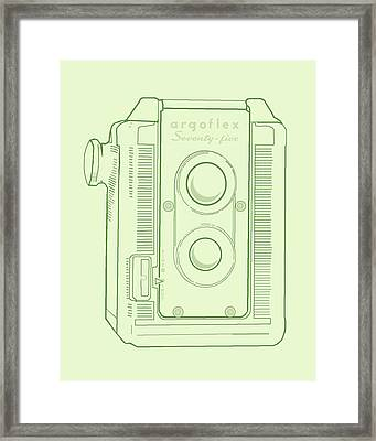 Argoflex Green Framed Print