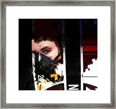 Argon Framed Print by Adam Kissel