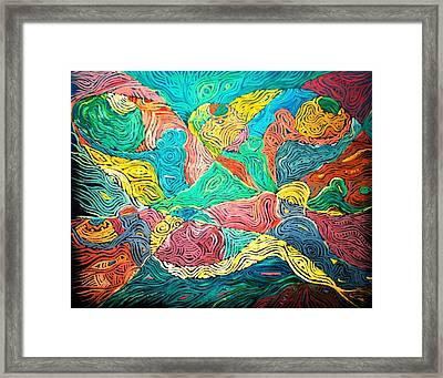Argungun Fishing Festival Framed Print