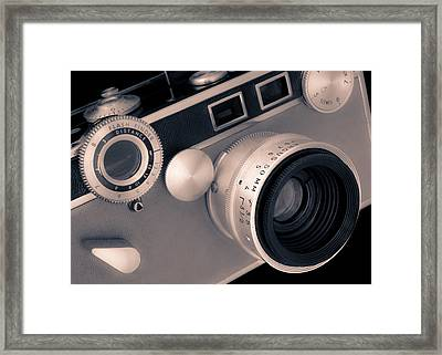 Argus C3 Matchmatic 35mm Film Camera Framed Print by Jim Hughes
