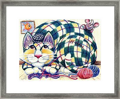 Argyle Framed Print by Dee Davis