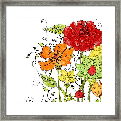 Aria I Framed Print by Mindy Sommers