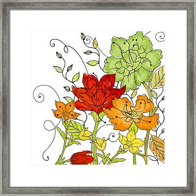 Aria II Framed Print by Mindy Sommers